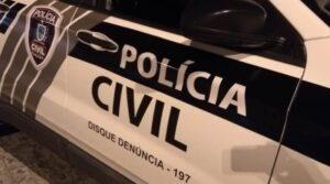 Polícia Civil prende suspeito de crime.